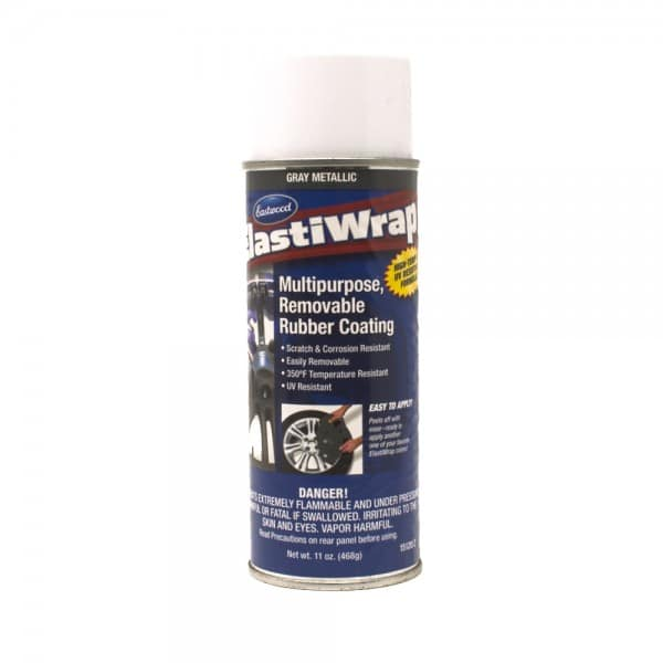 Elastiwrap METALLIC GREY Rubber Coating Dip Aerosol