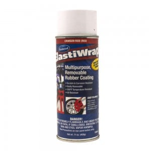 Elastiwrap CRIMSON RIDE RED Rubber Coating Dip Aerosol