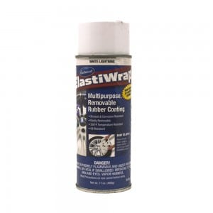 Elastiwrap WHITE LIGHTENING Rubber Coating Dip Aerosol