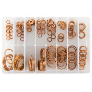Imperial Copper Sealing Washers (220 Pieces)