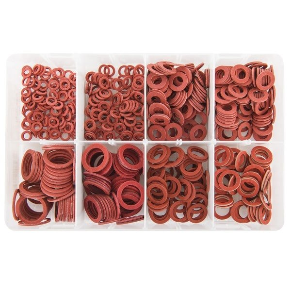 """Imperial (3/8-1"""") Red Fibre Washers"""
