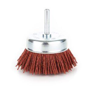 Coarse Abrasive Cup Wheel - Nylon Brush (75mm)