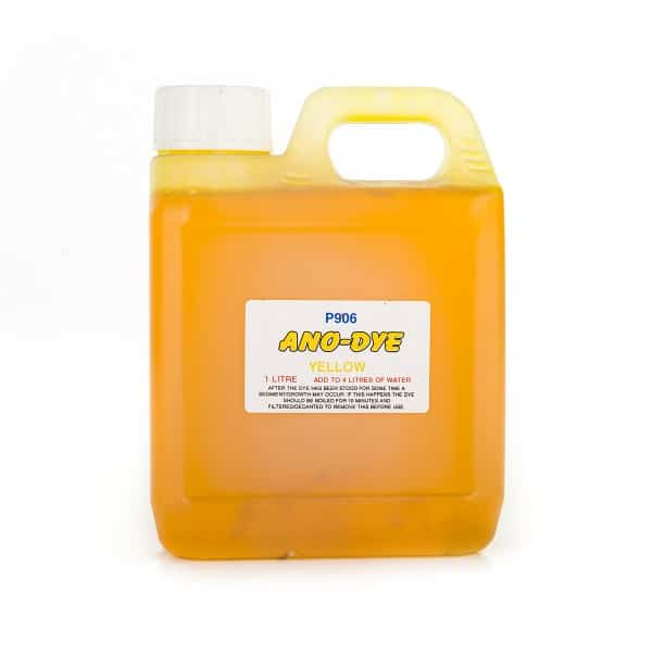 Yellow Coloured Anodising Dye (1L)