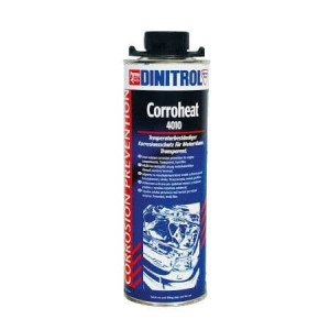 Dinitrol Corroheat 4010 Clear High Temperature Wax Laquer 1L -0