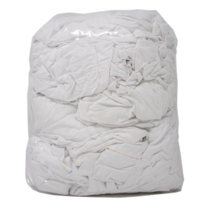 White Cotton Sheeting Wipes 2kg