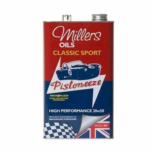 Millers Oils Pistoneeze Classic Sport HIGH PERFORMANCE 20w50 (5L) Engine Oil-0