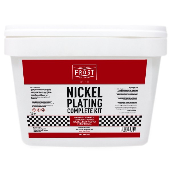 Nickel Plating - Complete Kit 10L