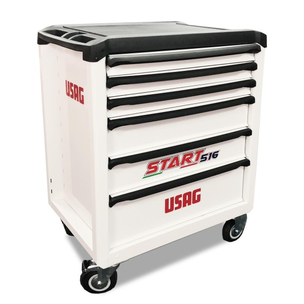 USAG White Roller Cabinet Start 516 Special Edition