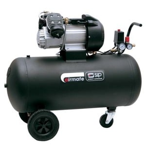 SIP Airmate TN3/100-D Oil Lubricated Air Compressor 14CFM