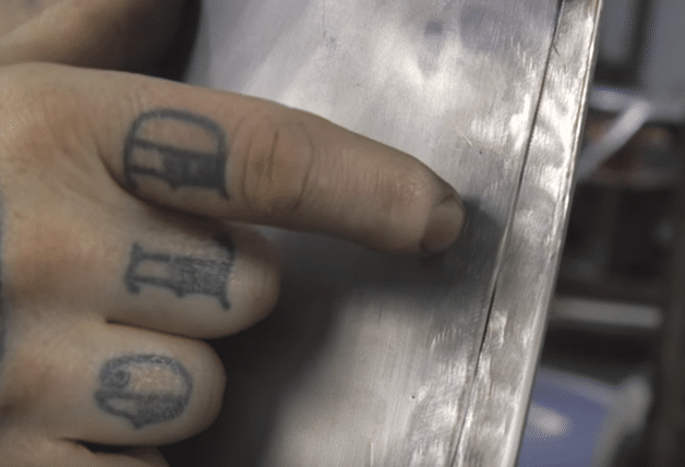 How to Tighten Up a Weld Seam on a Patch Panel