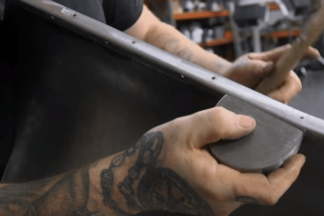 How to Tighten Up a Weld Seam on a Patch Panel1
