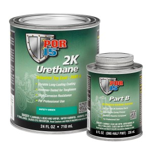 POR15 2K Urethane Green Paint