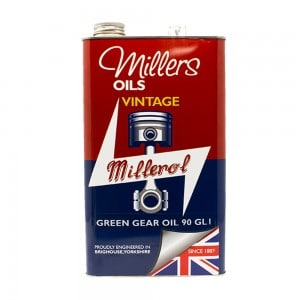 VINTAGE GREEN GEAR OIL