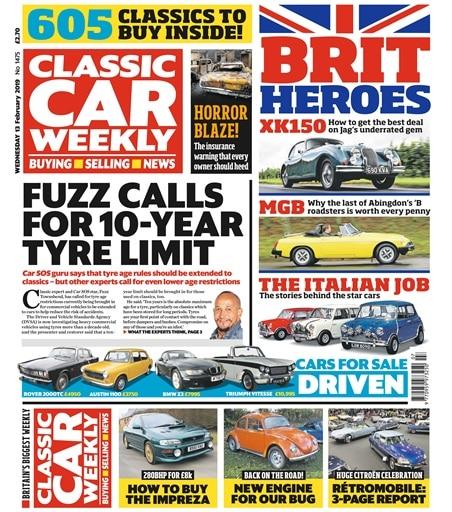 Classic Cars Weekly Newspaper
